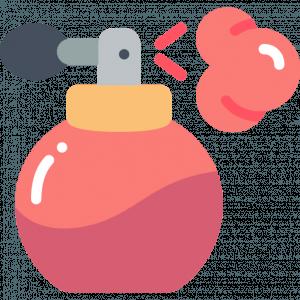 A perfum bottle