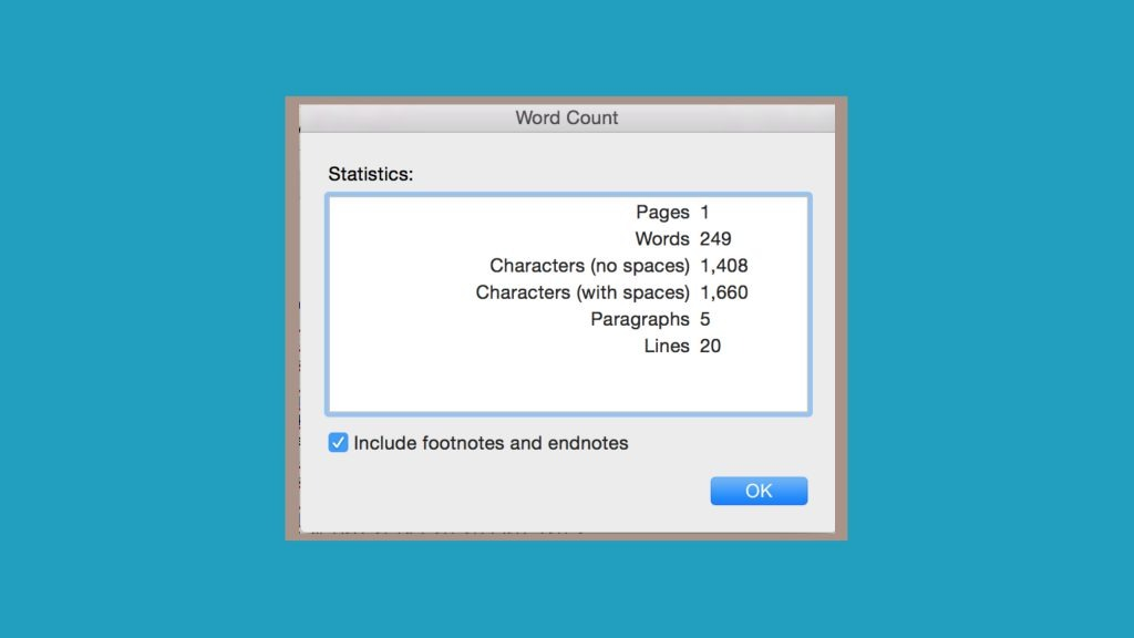 Can't reach word count essay