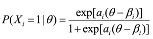 Maths formula to show The Cito variation on the Bookmark Method