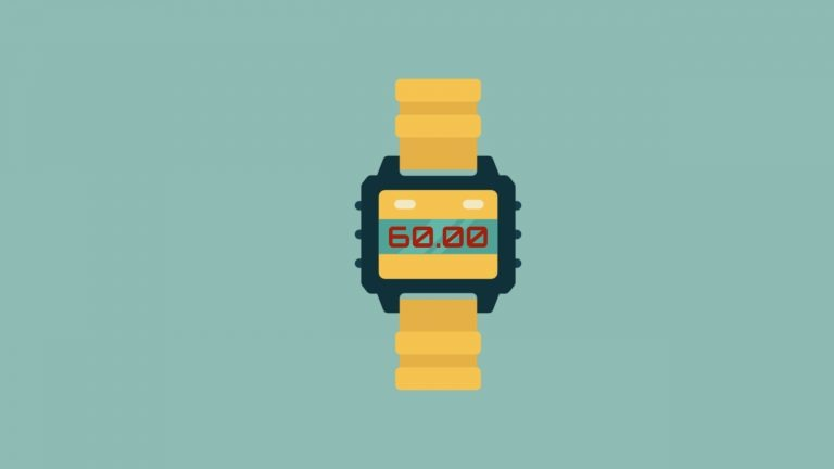 A digital watch with the tim3 60 minutes shows that this blog post is about IELTS time management