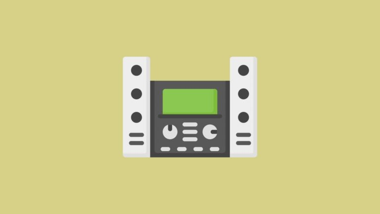 A stereo sits on a yellow background to signify changes to the IELTS Listening Test (January 2020)