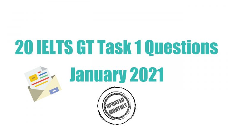 The words recent GT Task 1 questions sits in blue n a white background