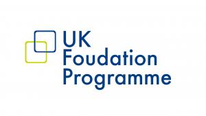 The logo for NHS UK Foundation Programme IELTS: