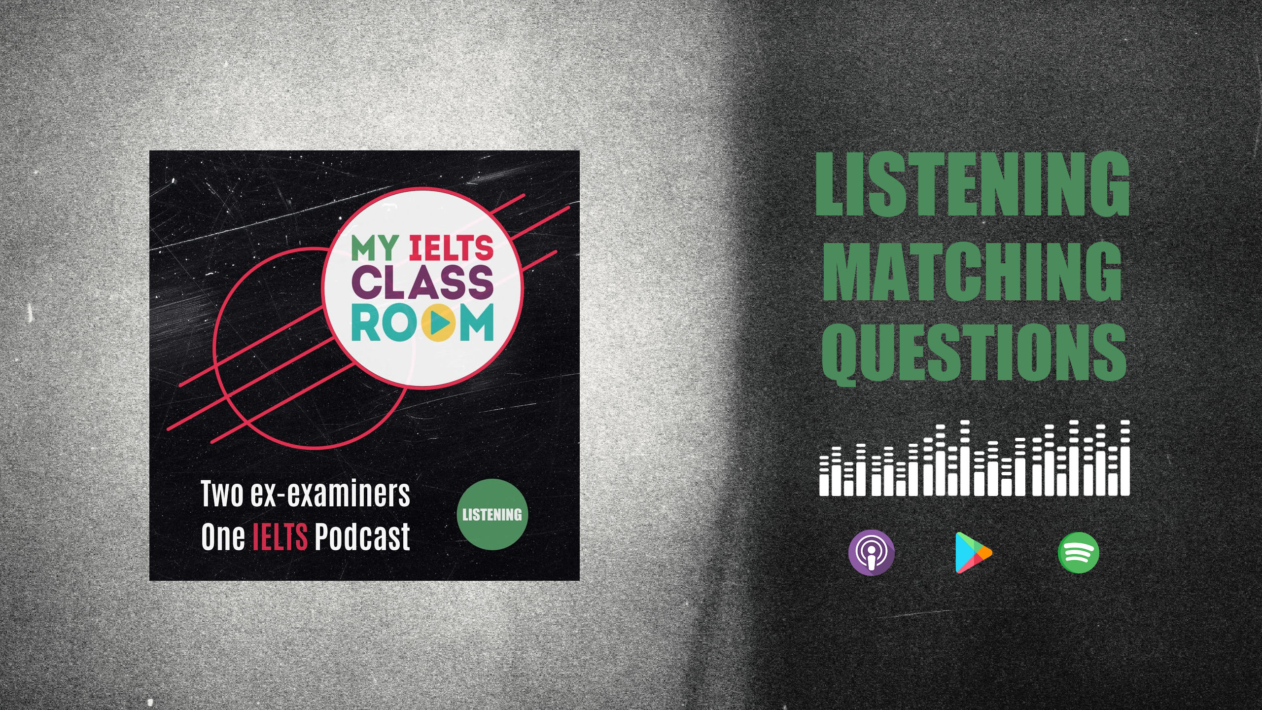IELTS Listening Matching Questions