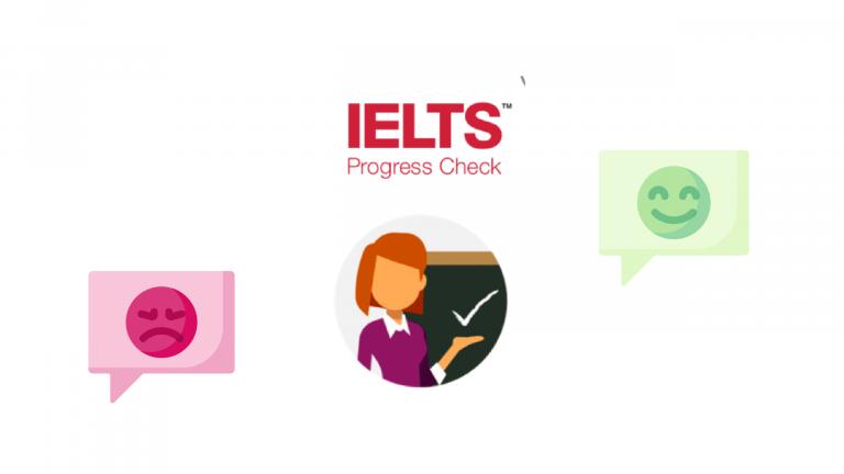 IELTS Progress Check Logo